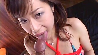 Japanese chick gets her pussy fingered and fucked hard by a stud