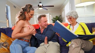Hot mature Cherie DeVille wants to be fucked apart from a stranger