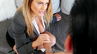 Seduced and fucked by fucking awesome cougar stepmom Corinna Blake