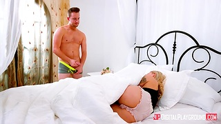 Dude with big faux pas Van Wylde asks for help added to enjoys going to bed blond stepsister Emma Hix