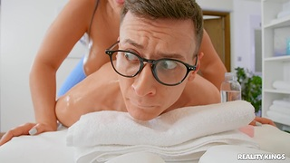 Hard vaginal carnal knowledge fro a younger hunk