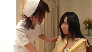 Horny lesbian nurse seal the doom her patient's pussy - Konomi Sakura