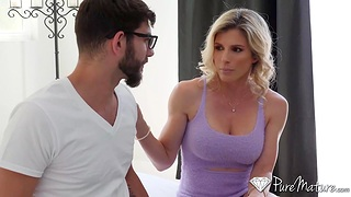 Seductive blondei Cory Chase gets toyed plus fucked anally for a difficulty greatest time