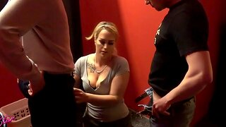 German homemade trine blowjob mmf with cum in mouth milf