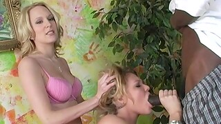 Interracial FFM threesome with Emily Evermore & Ruth Blackwell