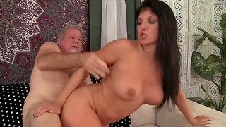 Old women enjoy their of age pussies getting fucked deep and complying from side with in doggy style